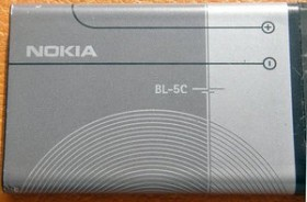 Compatible rechargeable battery to Nokia BL-5C/BL-5CA/BL-5CT/BR-5C