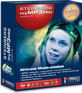 Pinnacle: Steinberg My MP3 Pro 5.0 (PC) (202261613)