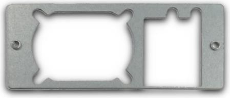 Inter-Tech 88885341 Montage-Kit für FlexATX PSU, 1HE
