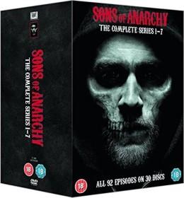 Sons Of Anarchy Box (Season 1-7) (DVD) (UK)