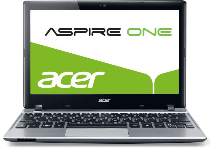 Acer Aspire One 756, Celeron 877, 2GB RAM, 500GB, Windows 8, silber (NU.SH5EG.019)