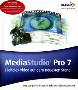 Ulead: MediaStudio Pro 7 - full version bundle (PC)