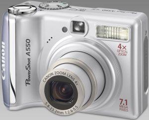 Canon PowerShot A550 silber (1775B008/1775B009)