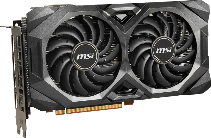 MSI Radeon RX 5700 XT Mech OC, 8GB GDDR6, HDMI, 3x DP (V381-003R)