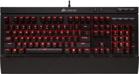 Corsair Gaming K68, LEDs rot, MX RED, USB, UK (CH-9102020-UK)