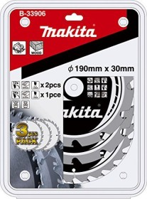 Makita circular saw blade set, 3-piece. (B-33906)