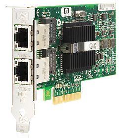 HP NC360T, 2x 1000Base-T, PCIe x4 (412648-B21)