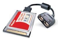Maxtor Adapter Card, IEEE 1394 FireWire, Cardbus (K14PM1394A)