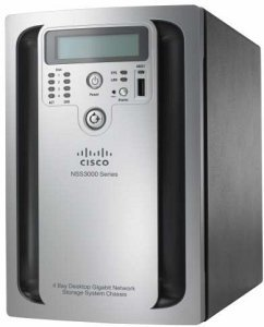 Cisco Small Business NSS3000, 1x Gb LAN