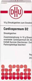 DHU Cardiospermum Globuli D2, 10g