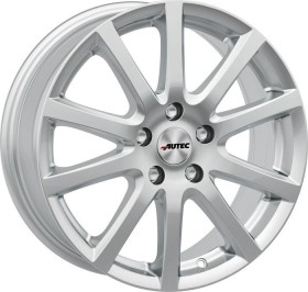 Autec Typ S Skandic 7.0x17 4/100 ET37 silber