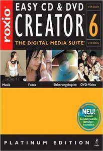 Adaptec/Roxio: Easy CD & DVD Creator 6 Platinum OEM/DSP/SB (PC) (207000)