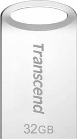 Transcend JetFlash 710 silber 32GB, USB-A 3.0 (TS32GJF710S)