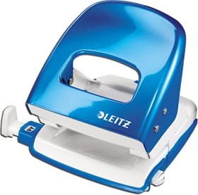 Leitz New NeXXt WOW Bürolocher Metall, blau (50081036)