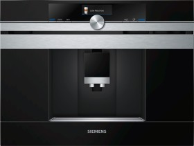 Siemens CT636LES6 built-in bean to cup coffee machine