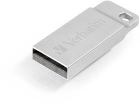 Verbatim Metal Executive silber 64GB, USB-A 2.0 (98750)