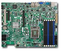 Supermicro X8SIE-LN4, i3420 (Socket 1156, dual PC3-10667U DDR3)