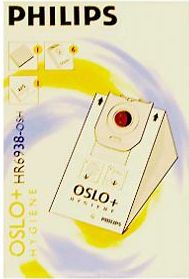 Philips HR6938/10 Oslo+ higiena worek na kurz