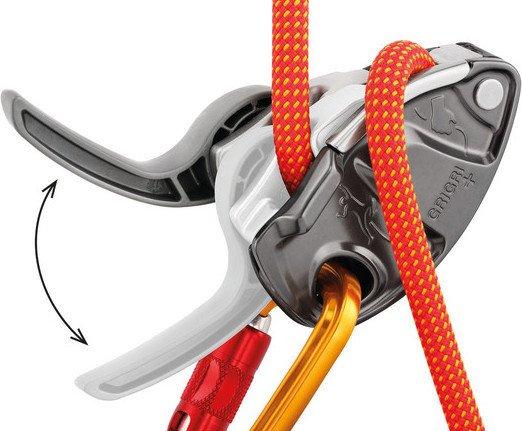 Hervis Klettersteigset Salewa : Petzl grigri halbautomatisches sicherungsgerät orange ab u20ac 54 95