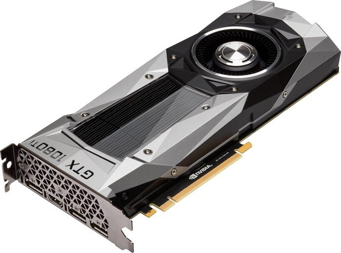 ASUS GeForce GTX 1080 Ti Founders Edition, GTX1080TI-FE, 11GB GDDR5X, HDMI, 3x DisplayPort (90YV0AP0-U0NM00)