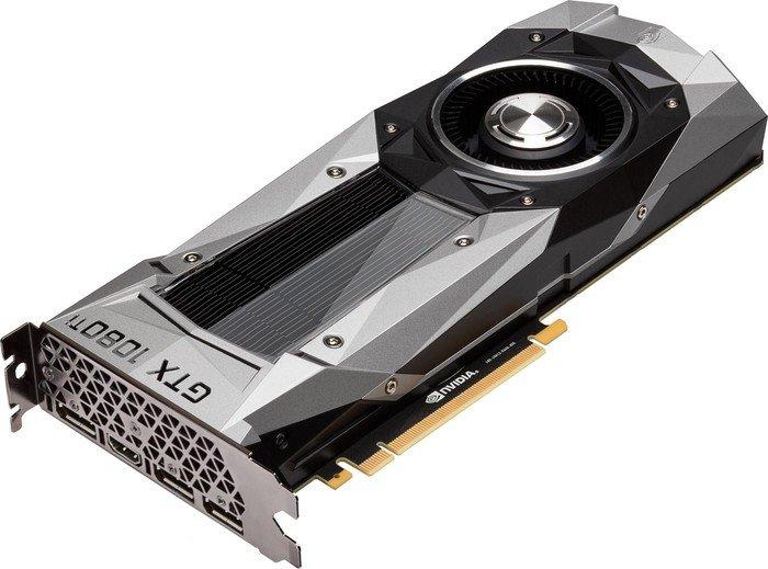 ASUS GeForce GTX 1080 Ti Founders Edition, GTX1080TI-FE, 11GB GDDR5X, HDMI, 3x DP (90YV0AP0-U0NM00)