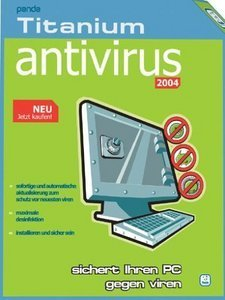 Panda Software: Antivirus Titanium 2004 OEM/DSP/SB (PC) (100008)
