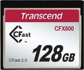Transcend 600x R500/W170 CFast 2.0 CompactFlash Card 128GB (TS128GCFX600)