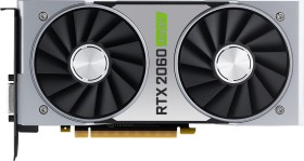 NVIDIA GeForce RTX 2060 SUPER Founders Edition, 8GB GDDR6, DVI, HDMI, DP (900-1G160-2565-000)