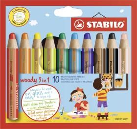 Stabilo Woody 3in1, 10er-Set (880/10)