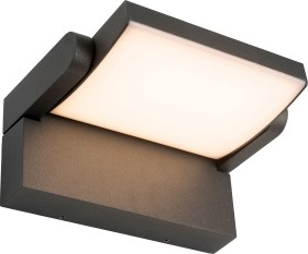 AEG Grady LED wall lamp anthracite (AEG280108)
