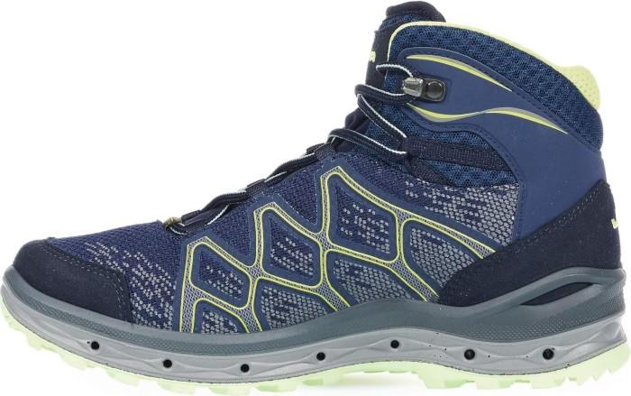 Lowa Damen Aerox GTX Mid W Trekking-& Wanderstiefel, Blau (Navy/Mint 6908), 41 EU