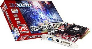 Xelo Radeon 9600 Pro, 128MB DDR, DVI, TV-out, AGP
