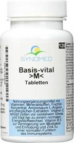 Synomed Basis-vital >M< Tabletten, 120 Stück