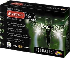 TerraTec Mystify 5600 Ultra, GeForceFX 5600 Ultra, 128MB DDR, DVI, TV-out, AGP (7160)