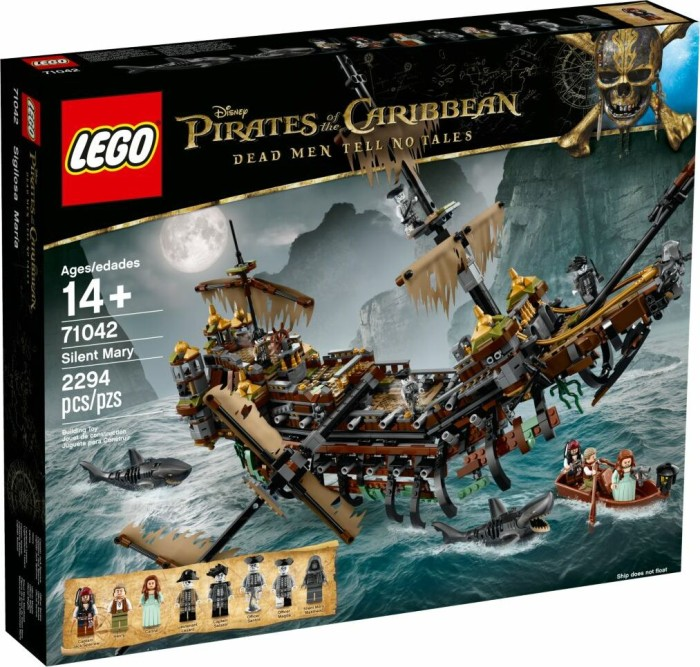 Lego Pirates Of The Caribbean Silent Mary Ab 21797 2019