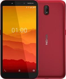 Nokia C1 Dual-SIM rot