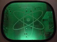 naklejka Atomic Energy