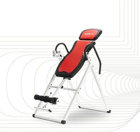SportPlus inversion table back trainer red/white (SP-INV-010)