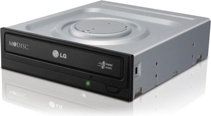 LG Electronics GH24NSD1 schwarz, SATA, bulk (GH24NSD1.AUAA10B)