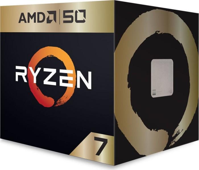 AMD Ryzen 7 2700X Gold Edition, 8x 3.70GHz, boxed (YD270XBGAFA50)