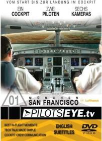 Lufthansa Airbus A340-600 München - San Francisco (DVD)