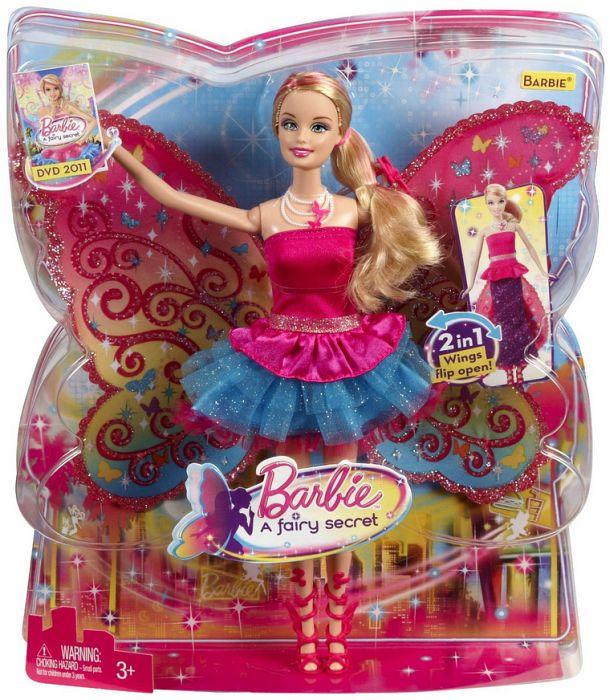 Mattel Barbie Die geheime Welt der Glitzerfeen - Barie (T7349)