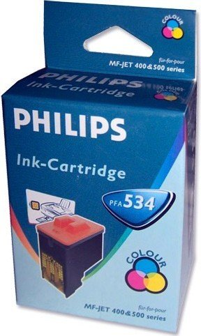 Philips PFA 534 Printhead with ink coloured