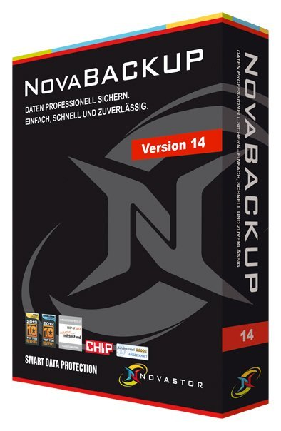 NovaStor: NovaBackup 14.0 Professional Family incl. 1 year NovaCare Premium, 3 User (multilingual) (PC)