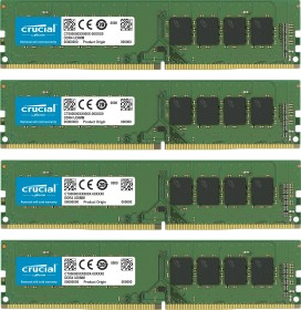 Crucial DIMM Kit 32GB, DDR4-2400, CL17, ECC (CT4K8G4WFS824A)