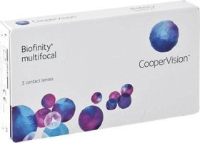 Cooper Vision Biofinity multifocal, -2.25 Dioptrien, 3er-Pack