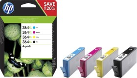 HP Tinte 364 XL Combo Value Pack (SM596EE / N9J74AE)