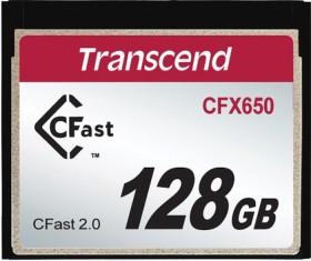 Transcend R510/W370 CFast 2.0 CompactFlash Card [CFAST2.0] 650x 128GB (TS128GCFX650)