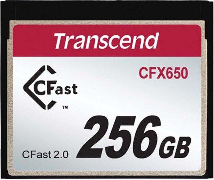 Transcend R510/W370 CFast 2.0 CompactFlash Card [CFAST2.0] 650x 256GB (TS256GCFX650)
