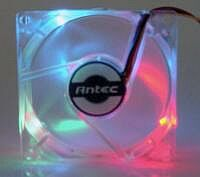 Antec TriLight LED Fan, 80mm